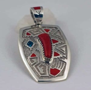 Michael Perry Sterling Silver Pendant