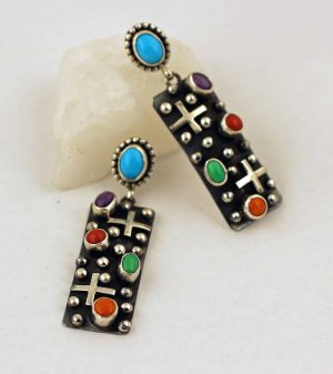 Ronnie Willie Sterling Silver Earrings